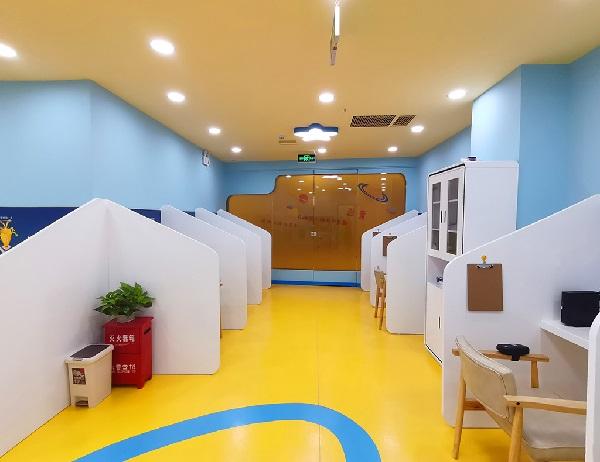 杭州竞思教育运河中心室内环境