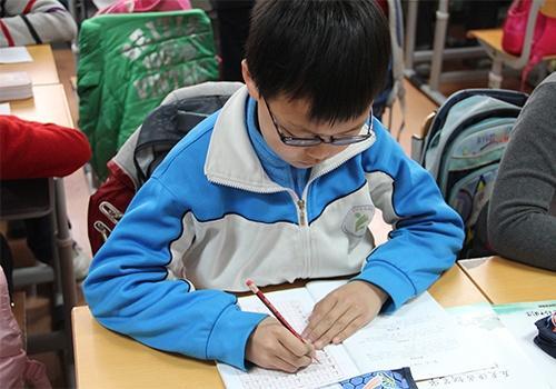 儿童集中注意力学习中