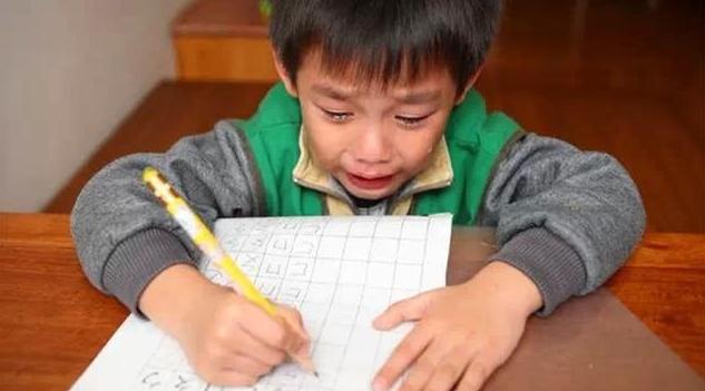 孩子不想写作业